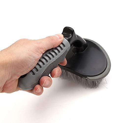 Forspero 9 Inch Wheel cleaning Brush für Auto Detaillierung Rim Fahrzeug Motorrad - Auto Detaillierung Innenraum