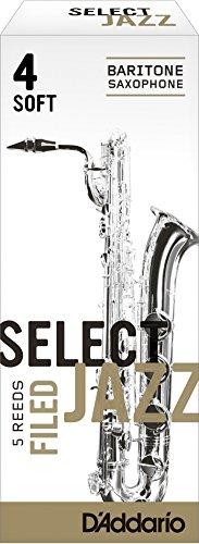 corte americano resistencia 2//blandas paquete de 5 Ca/ñas para saxo tenor Rico Select Jazz
