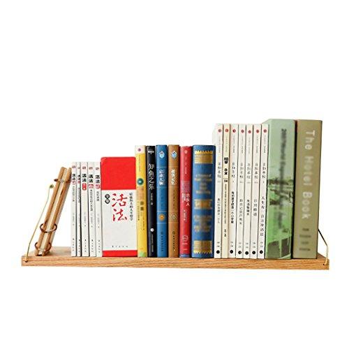 QFF Kreative Regal, Massivholz Material Wand Bücher Bücher Dekorationen Lagerung Wohnzimmer Schlafzimmer Studie Wort Bord Einzigartiger Stil (größe : 90*15CM) - Mobile Regale Warenkorb