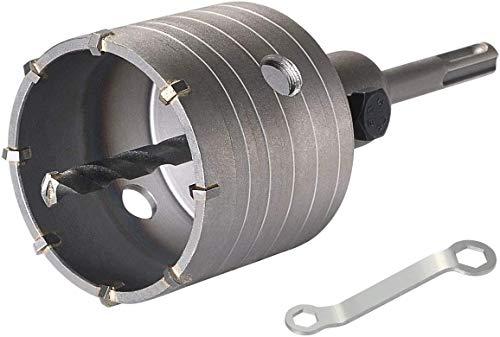 flintronic Hohl-Bohrkrone Ø 68mm mit SDS Plus Adapter 111mm Zentrierbohrer Ø 8 * 111mm Lochsägen Bohrer für Steckdosen Hammerschlagfest Dosenbohrer