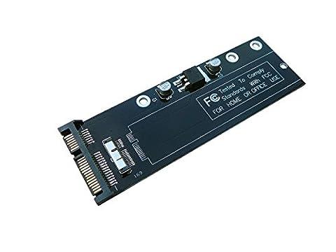 Kalea-Informatique SATA-Adapter für SSDs von MacBook Air, 6+12 Pins, Ref. A1369 A1370 A1375 A1377 MC965 MC968 MC969 MC505 MC503 (Macbook Air Ssd)