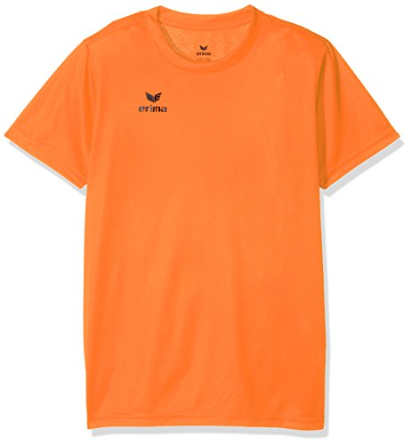 Erima Kinder Funktions Teamsport T-Shirt, Orange, 128