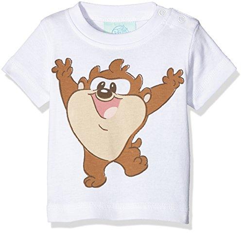 Twins Unisex Baby T-Shirt Looney Tunes, Weiß (Weiss 4013), 56