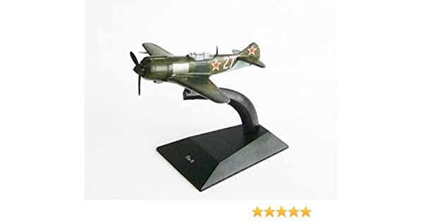 Fertigmodell aus Metall Legendäre Flugzeuge,De Agostini NEU La-7