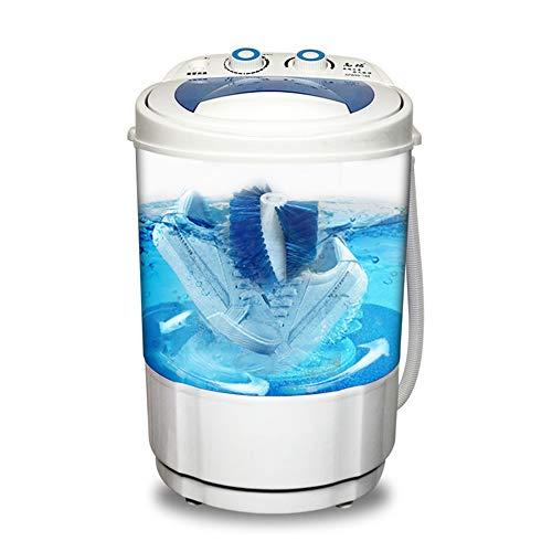 Mini lavatrice per uso domestico, piccola lavatrice automatica portatile pigra, pulizia profonda a 360 °, funzione antibatterica Blu-ray, adatta per famiglia, dormitorio, appartamento, ecc. ZDDAB