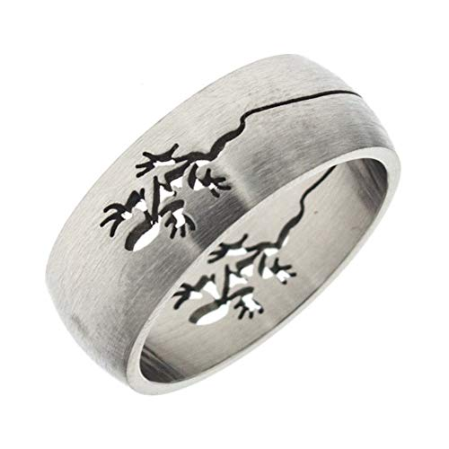 Anniversary Collection Ring Gecko Stahl AC008-28
