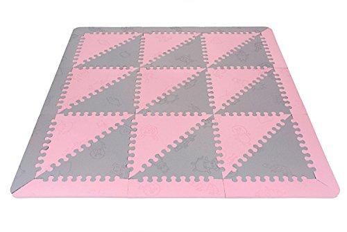 LuBabymats - Alfombra puzzle infantil para bebés de Foam (EVA), suelo...