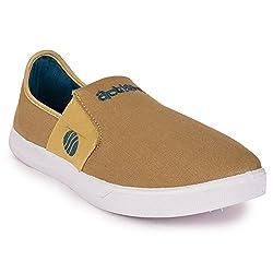 Action Shoes Mens Beige Sneakers - 7 UK/India (41 EU)(C-1405-BEIGE)