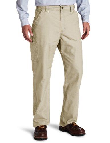 Carhartt Herren Arbeitshose Canvas B151 - beige - 34W / 36L Carhartt Canvas-jeans