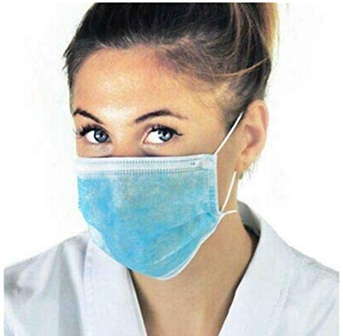 10 PEZZI Mascherina Antipolvere, Antivirus, Antibatteriche, Mascherine Chirurgiche Monouso, Massima protezione.