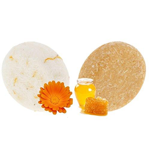 CUTICATE 2 Aromen Handgemachte Shampoo Seife Haarwachstum Soap Bar Für Haarausfall Reinigung - Flower Soap Bar Seife