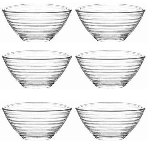 LAV 6tlg Glasschalen Derin Schalen Glasschale Dessertschale Vorspeise Glas Gläser 300ml preisvergleich