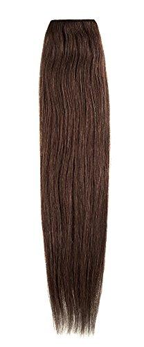 American Dream de qualité Platinum 100% cheveux humains Extensions capillaires 50,8 cm couleur 1,8 kg – Brun doré foncé