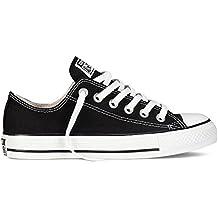 Converse Chuck Tailor All Star Zapatillas de lona, Unisex, Negro, 38 EU