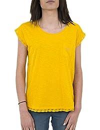 tee shirt kaporal fear jaune