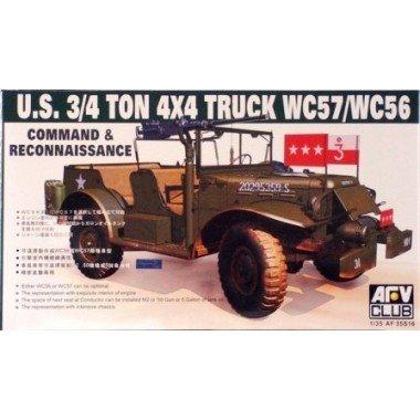 AFV Club 1 35 - WC57 Command Car US 3 4 ton 4x4 truck - AFV35S16