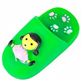 Dog Lovers Chew Slippers Shoes Toy Squeaky Sound Dog Toy Color Vary