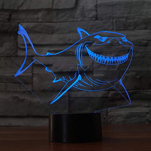 Ball 3D Light 7 Color Touch Base 3D Nachtlicht Tischlampe Baby Schlaf Nachtlicht Sport Fan Kind ## 11 -