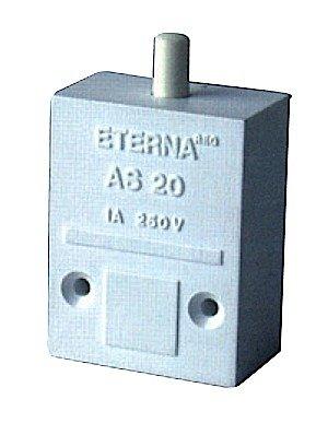 Jegs XS63W-Push-to-Break-Schalter für automatischen Schrank (vorverpackt)