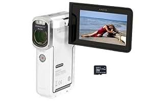 Caméscope Sony HDR GW66 WS Blanc + Carte Micro SD 16 Go.