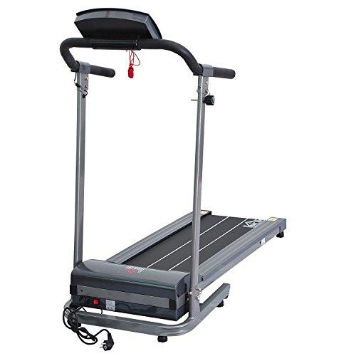 Homcom Laufband Elektrisches mit LED Display Heimtrainer Fitnessgerät 500 W, B1-0094 - 4