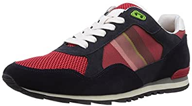 Boss Green Runcool 10176412 01, Chaussures de Course pour Homme Rouge Rot (Dark Red 601) 46