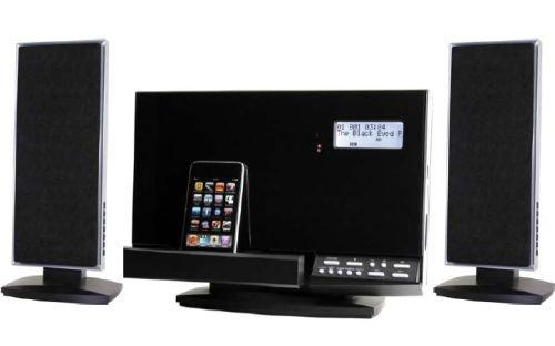 Soundmaster DISC180 CD/Radio-Musikcenter mit Apple iPod-Docking/erweiterbare Funk-Lautsprecher (Cd-player Mit Ipod-docking)