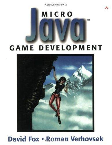 Micro Java? Game Development 1st edition by Fox, David, Verhovsek, Roman (2002) Taschenbuch