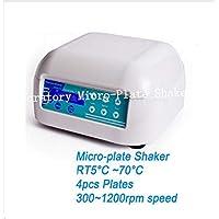 GOWE laboratorio Micro-Plate Shaker con 4pcs de platos termostático para incubadora