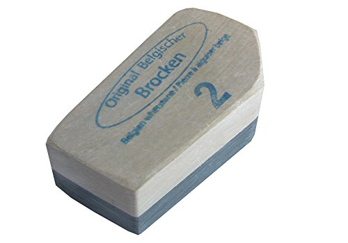 Schleifstein Belgischer Brocken 2 standard 18-22 cm² - Kochmesser Schleifstein