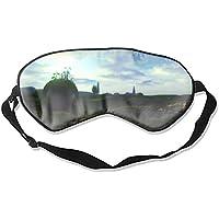 Bequeme Schlafmasken Fantasie Landschaft Himmel Wolke Kreatur Bedruckte Schlafmaske für Reisen, Mittagsschlaf... preisvergleich bei billige-tabletten.eu