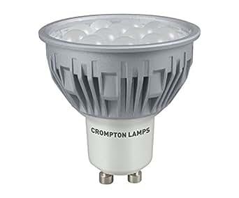 crompton led gu10 5w daylight flood lighting. Black Bedroom Furniture Sets. Home Design Ideas