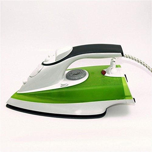 LT&NT Plancha de vapor Plancha de piso de cerámica Hierro de mano Plancha de vapor de hierro (verde)