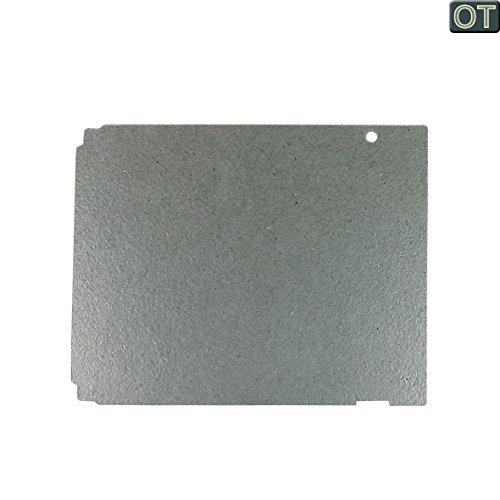 VIOKS Glimmerscheibe Hohlleiterabdeckung Spritzschutz für Mikrowelle Universal Zuschneidbar 140x115mm