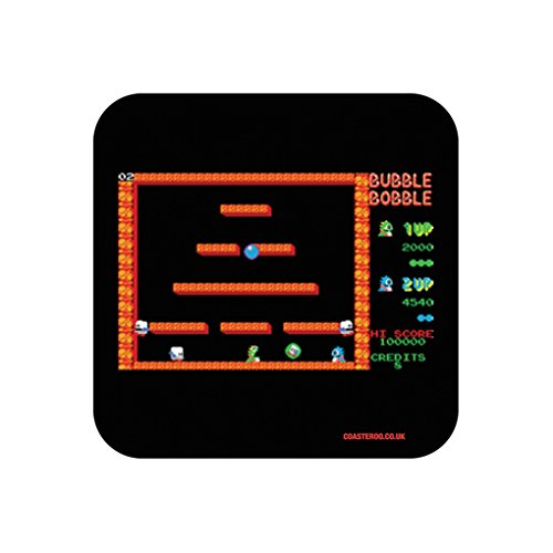 Bubble Bobble Game Screen Drinks Coaster