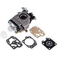 Carburador para desbrozadora con kit de reparación para los modelos MP15, CG430, CG520,BC430,BC520 de 43 cc y 52 cc