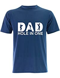 PALLAS Unisex's Dad Hole In One Golf Gift Funny T-Shirt