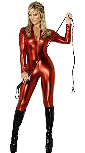 Catwoman Kostüm Body - CHUANXING Frauen Sexy Lackleder Dessous Kostüm Catwoman Latex Catsuit PVC Body Overall Kleid Clubwear, L