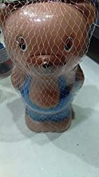 Aaryan Enterprise Piggy Bank Money Saving Box (Brown)
