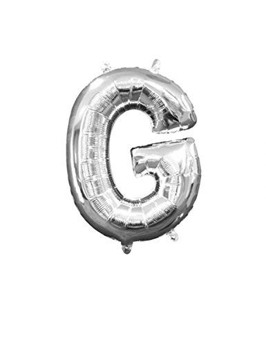 cm Buchstabe G Mini Form Folie Ballon (Halloween-kostüme Buchstaben G)
