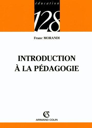 Introduction  la pdagogie