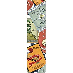 Magic Mark Cook Book Size, Non-Slip Book Mark, Olive Oil Collage by Gracey Knight
