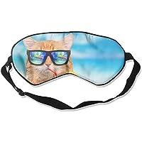 Funny Cat With 99% Eyeshade Blinders Sleeping Eye Patch Eye Mask Blindfold For Travel Insomnia Meditation preisvergleich bei billige-tabletten.eu