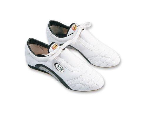 M.A.R International Ltd Training Schuhe Stiefel Martial Arts Schuhe Gym Trainer für Workout Übung, Weiß - weiß - Größe: 41 (Martial-arts-training-schuh)