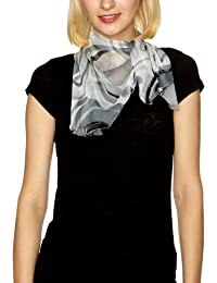Bellewear Lotus Leaf Edge Silk Women's Scarf