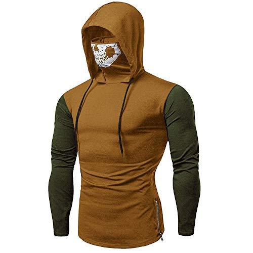 Sweat à Capuche Homme, Printemps Automne Hiver Sweat-Shirt Manteau Veste  AméLiorer Pas Cher f864781d7cf
