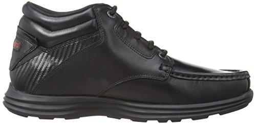 Kickers Reasan Boot Leather Am, Herren Stiefel Schwarz (Black)