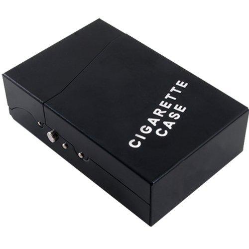 Alu Zigarettenetui Zigarettendose Zigaretten Etui Box (Push-knopf-bedienung)