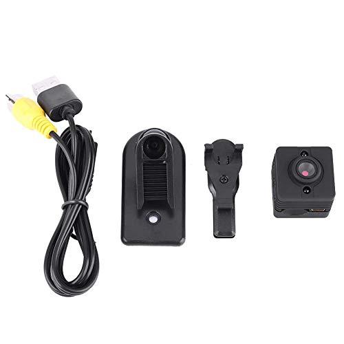 Tbest Nachtsicht versteckte Kamera tragbarer Mini-DVR-HD-Recorder Mini Spy Cam Radfahren Videokamera Infrarot-Nachtsicht-Camcorder für Outdoor-Auto Home Security, mit 160 mAh Li-On-Akku Dvr Cd