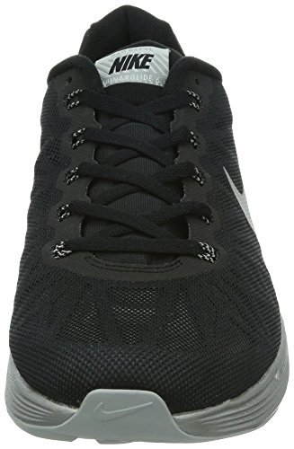 Nike Lunarglide 6 Flash Herren Laufschuhe Schwarz (Black/reflect silver 001)